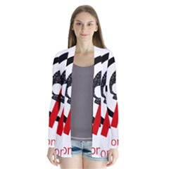 Twenty One Pilots Skull Drape Collar Cardigan