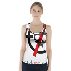 Twenty One Pilots Skull Racer Back Sports Top