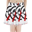 Twenty One Pilots Skull Pleated Mini Skirt View1