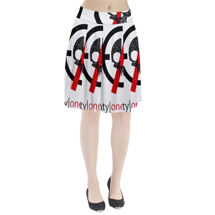 Twenty One Pilots Skull Pleated Skirt