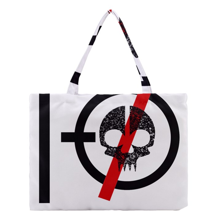 Twenty One Pilots Skull Medium Tote Bag
