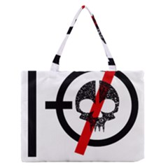 Twenty One Pilots Skull Medium Zipper Tote Bag
