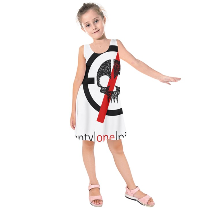 Twenty One Pilots Skull Kids  Sleeveless Dress