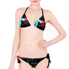 Twenty One Pilots Stay Alive Song Lyrics Quotes Bikini Set