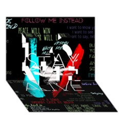 Twenty One Pilots Stay Alive Song Lyrics Quotes Love 3d Greeting Card (7x5)