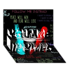 Twenty One Pilots Stay Alive Song Lyrics Quotes You Are Invited 3d Greeting Card (7x5)