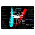 Twenty One Pilots Stay Alive Song Lyrics Quotes Samsung Galaxy Tab 8.9  P7300 Flip Case View1