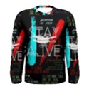 Twenty One Pilots Stay Alive Song Lyrics Quotes Men s Long Sleeve Tee View1