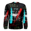 Twenty One Pilots Stay Alive Song Lyrics Quotes Men s Long Sleeve Tee View2