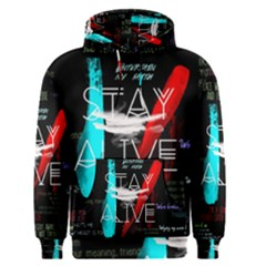 Twenty One Pilots Stay Alive Song Lyrics Quotes Men s Pullover Hoodie
