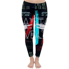 Twenty One Pilots Stay Alive Song Lyrics Quotes Winter Leggings