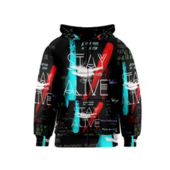 Twenty One Pilots Stay Alive Song Lyrics Quotes Kids  Zipper Hoodie