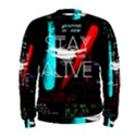 Twenty One Pilots Stay Alive Song Lyrics Quotes Men s Sweatshirt View1