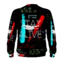 Twenty One Pilots Stay Alive Song Lyrics Quotes Men s Sweatshirt View2