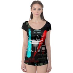 Twenty One Pilots Stay Alive Song Lyrics Quotes Boyleg Leotard