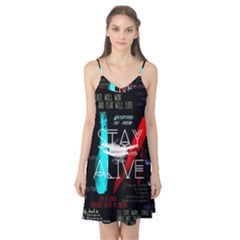 Twenty One Pilots Stay Alive Song Lyrics Quotes Camis Nightgown