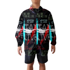 Twenty One Pilots Stay Alive Song Lyrics Quotes Wind Breaker (Kids)