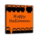 Happy Halloween - owls Mini Canvas 6  x 6  View1