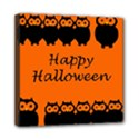Happy Halloween - owls Mini Canvas 8  x 8  View1
