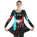 Twenty One Pilots Stay Alive Song Lyrics Quotes Long Sleeve Tunic  View1