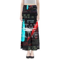 Twenty One Pilots Stay Alive Song Lyrics Quotes Maxi Skirts