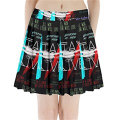 Twenty One Pilots Stay Alive Song Lyrics Quotes Pleated Mini Skirt