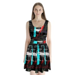Twenty One Pilots Stay Alive Song Lyrics Quotes Split Back Mini Dress