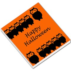 Happy Halloween   Owls Small Memo Pads
