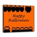 Happy Halloween - owls Deluxe Canvas 24  x 20   View1