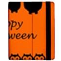 Happy Halloween - owls Apple iPad 2 Flip Case View2