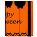 Happy Halloween - owls Apple iPad 3/4 Flip Case View2
