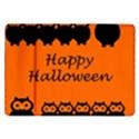 Happy Halloween - owls Samsung Galaxy Tab 10.1  P7500 Flip Case View1