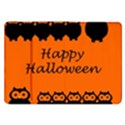 Happy Halloween - owls Samsung Galaxy Tab 8.9  P7300 Flip Case View1