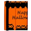 Happy Halloween - owls Samsung Galaxy Tab 8.9  P7300 Flip Case View3