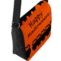 Happy Halloween - owls Flap Messenger Bag (L)  View2