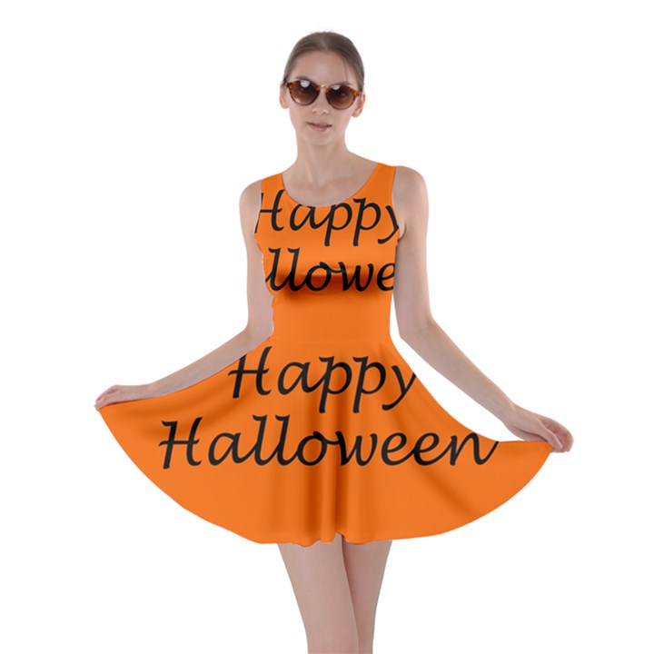 Happy Halloween - owls Skater Dress