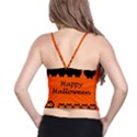 Happy Halloween - owls Spaghetti Strap Bra Top View2