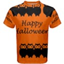 Happy Halloween - owls Men s Cotton Tee View1