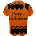 Happy Halloween - owls Men s Cotton Tee View2