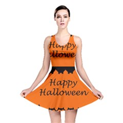 Happy Halloween   Owls Reversible Skater Dress