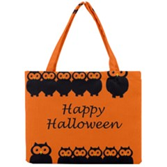 Happy Halloween - owls Mini Tote Bag