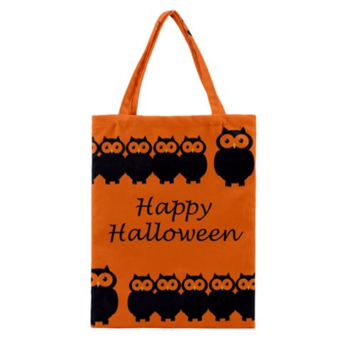 Happy Halloween - owls Classic Tote Bag
