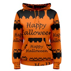 Happy Halloween   Owls Women s Pullover Hoodie