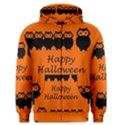 Happy Halloween - owls Men s Zipper Hoodie View1