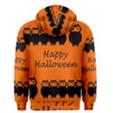 Happy Halloween - owls Men s Zipper Hoodie View2