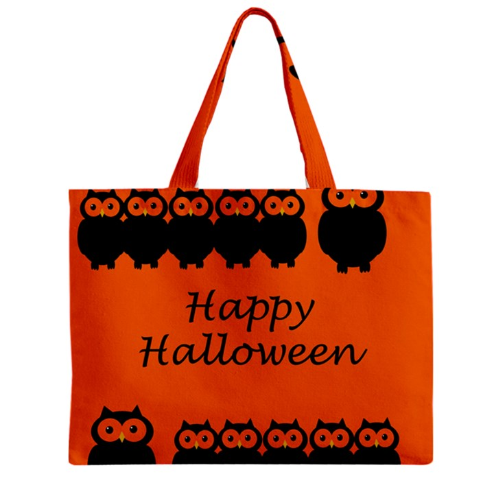 Happy Halloween - owls Zipper Mini Tote Bag