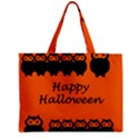 Happy Halloween - owls Zipper Mini Tote Bag View2