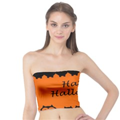 Happy Halloween   Owls Tube Top