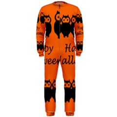 Happy Halloween - owls OnePiece Jumpsuit (Men)