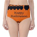 Happy Halloween - owls High-Waist Bikini Bottoms View1